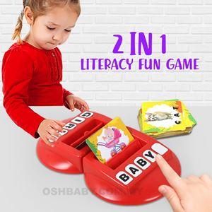 2 in 1 LITERACY FUN GAME