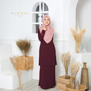 06 MARISSA SUIT IN ROSE MAROON