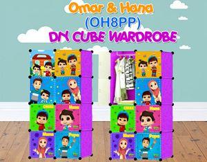 Omar & Hana PURPLE 8C DIY WARDROBE (OH8PP)