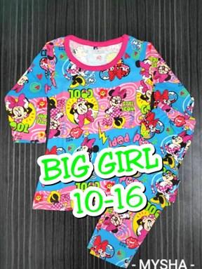 Pyjamas MINNIE COOL POP :  Big Size 10-16