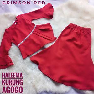 HALEEMA KURUNG AGOGO ( CRIMSON RED )