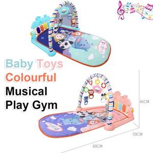 Premium Quality Baby Toys Colourful Musical Play Gym Playgym Mat Playmat Tikar Bayi Mainan