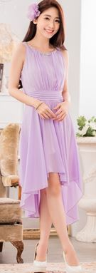 YDR47 * Bust 90-116cm * Colour : Yellow, Purple