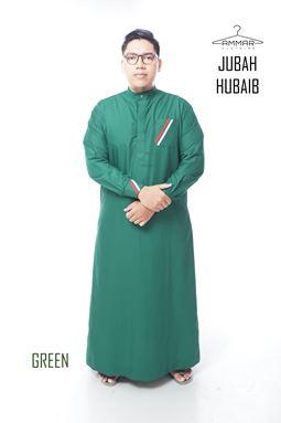 Jubah Hubaib - Green