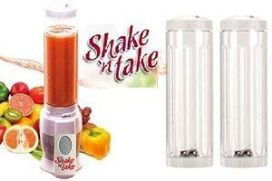 Shake n Take Smoothie Blender with 2 Bottles