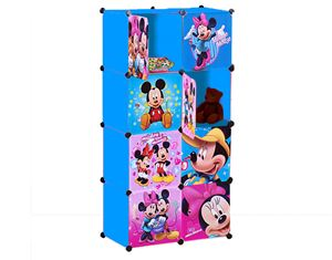 MICKEYMINNIE BLUE 8C DIY WARDROBE (MC8B)