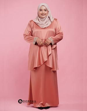 Kurung Azreen (Rose Gold)