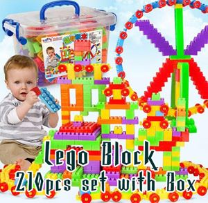 Lego Block 210pcs set with Box