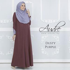 Audre Lacey Dress : Dusty Purple