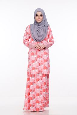 Baju Kurung Melissa (KM108) - Size XS, S, M, XL ONLY available
