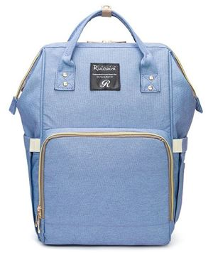 Stylish Diaper Bag - Denim Blue