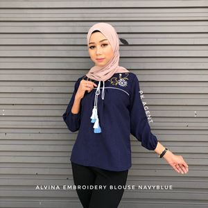 ALVINA EMBROIDERY BLOUSE