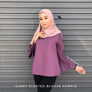 GINNY PLEATED BLOUSE