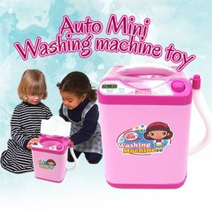 AUTO MINI WASHING MACHINE TOY