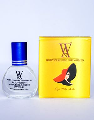 WAN BODY PERFUME - (WW04) BODY SHOP APPLE BLOSSOM