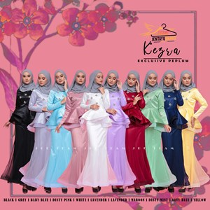 KEZRA EXCLUSIVE PEPLUM