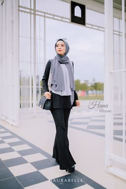HANA BLOUSE-BLACK