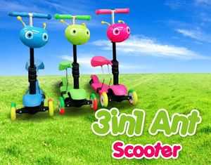 3in1 Ant Scooter