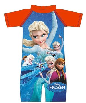 Swimming Suit - Frozen Elsa & Anna Blue