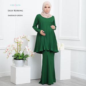 Lilly Kurung - Emerald Green