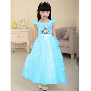 Frozen Dress ~ Blue Elsa