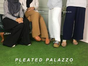 PLEATED PALAZZO(27139)