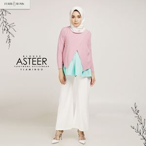 Asteer Blouse - Flamingo
