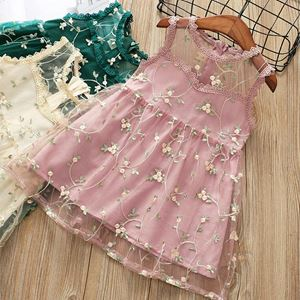 PINK SAMEERA LACE DRESS
