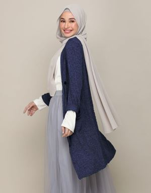 DANIA CARDIGAN IN DARK BLUE