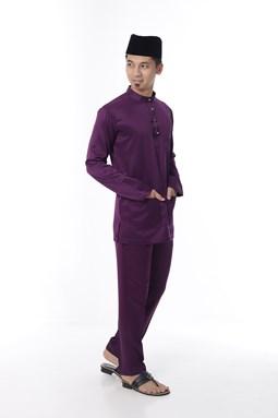 Baju Melayu Ngam Xclusive - Purple