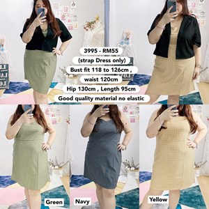 3995 *Ready Stock *Bust 46 to 49 inch /118-126cm