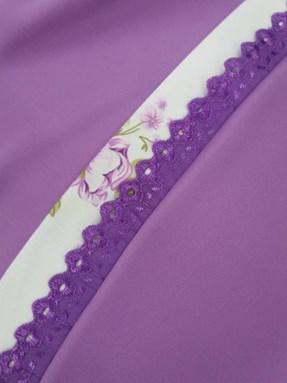 Telekung Rose Purple
