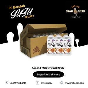 Almond Milk Original 200G X 24 PKTS