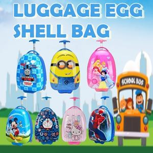 LUGGAGE EGG SHELL BAG