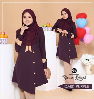 BLOUSE LORIEAL ( DARK PURPLE )