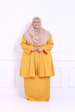 Kebaya Khadeejah - Mustard