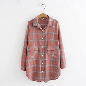 Check Overshirt (Pink)
