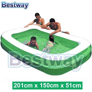 Bestway 54005 Family 2 Layer Swimming Poor With Air Pump