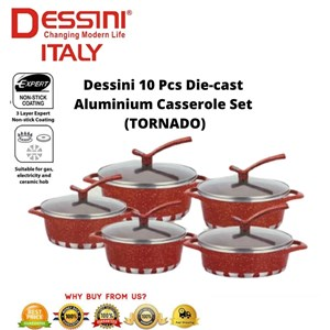 10 pcs Dessini Die Cast Aluminium