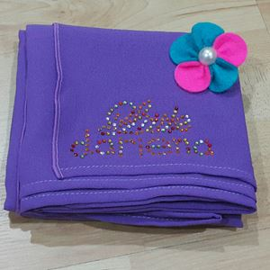 LD Chiffon 2loops Exclusive (Purple)