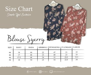 BLOUSE SHERRY