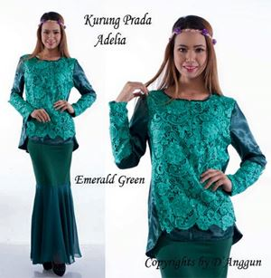 Blouse Prada Adelia Emerald Green