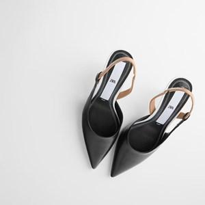Black Pointed Stiletto High Heels