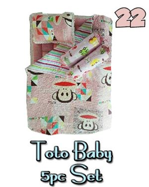 22 BABY TOTO 5PC SET PATCHWORK
