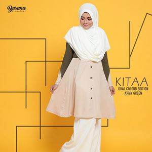 BLOUSE KITAA - ARMY GREEN
