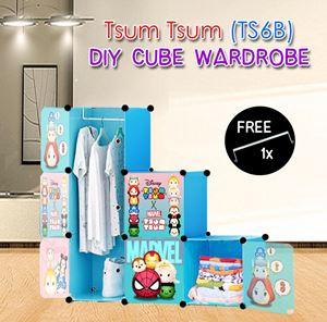 Tsum Tsum BLUE 6C DIY WARDROBE (TS6B)