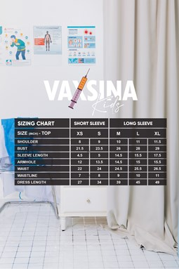 VAXSINA KIDS LONG SLEEVE BLACK