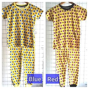 Pyjamas Elmo and Cookies ( Blue and Red) :  Big Size 12 -18