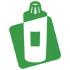 Brooch Camellia - Crystal
