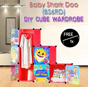 Baby Shark Doo RED 6C DIY WARDROBE (BS6RD)